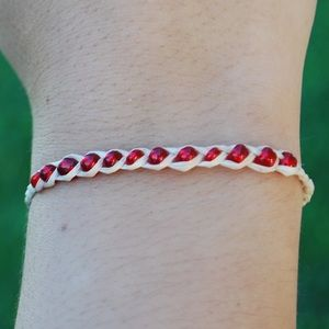 Raffia Friendship Wish Bracelets